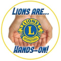 Lions are hands on